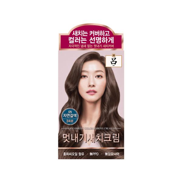 려 우아채멋내기새치크림 자연갈색5N 120G 상품이미지