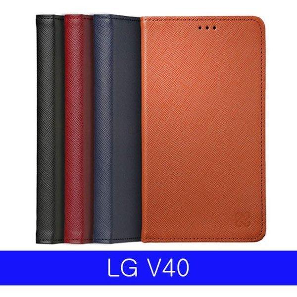 v40케이스 LG V40 천연소가죽 리밋 플립 V409 케이스 상품이미지