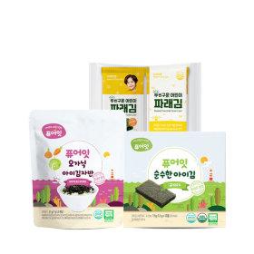 퓨어잇 신제품 아이김자반 출시 추가증정 4+1 3+1