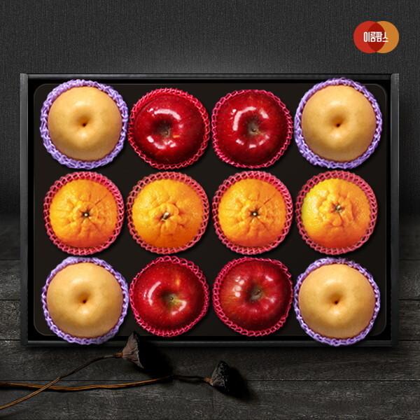 이룸팜스 다복 명품사과.배.한라봉 혼합세트4호 5kg(사과4입 신고배4입 한라봉4) 상품이미지