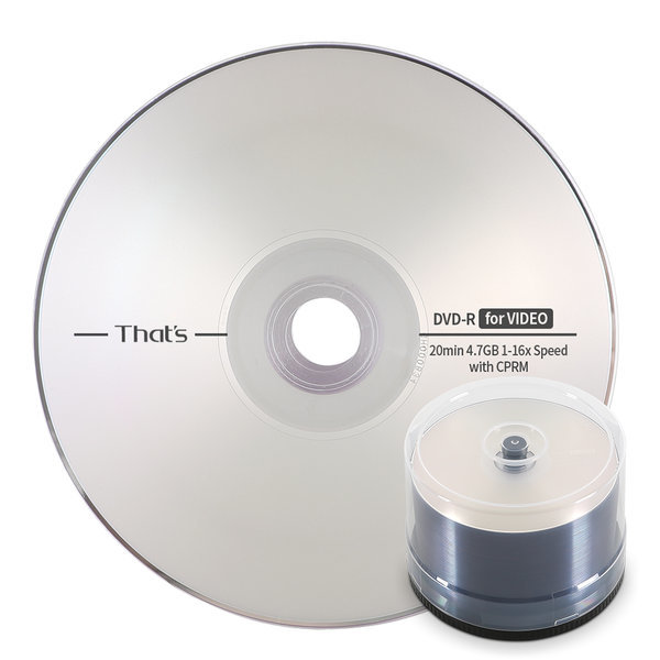 다이요유덴 16배속 4.7GB DVD-R 50장 케이크박스 포장 상품이미지