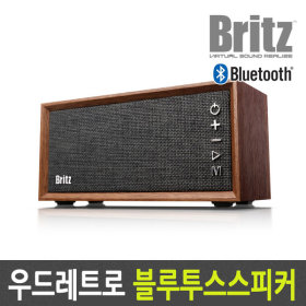 BA-RBW1 우드 레트로 무선 블루투스 스피커 라디오