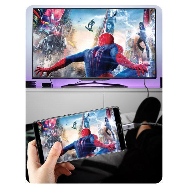 타입C TO HDMI 미러링 케이블 TV연결/갤럭시노트8 상품이미지