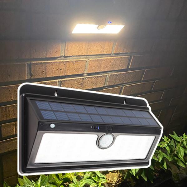 태양광정원등 태양광 45구 감지 벽부등 센서등 계단등 상품이미지
