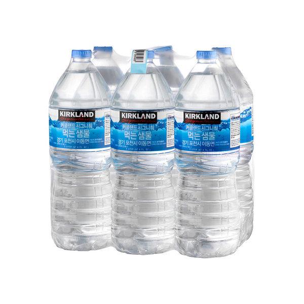 커클랜드 생수 2L x 6병 / 물 코스트코 먹는샘물 상품이미지