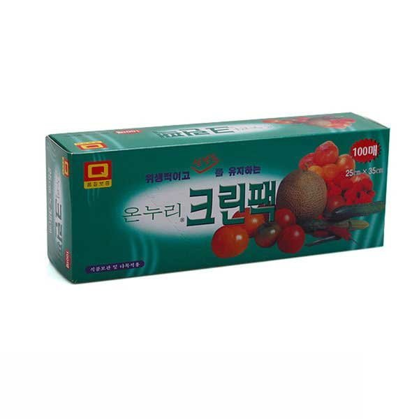 SM 온누리 크린팩(25cm35cm) 100매 비닐봉투 비닐팩 상품이미지