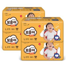 액션핏 팬티 대형 남아 32매 x 4팩