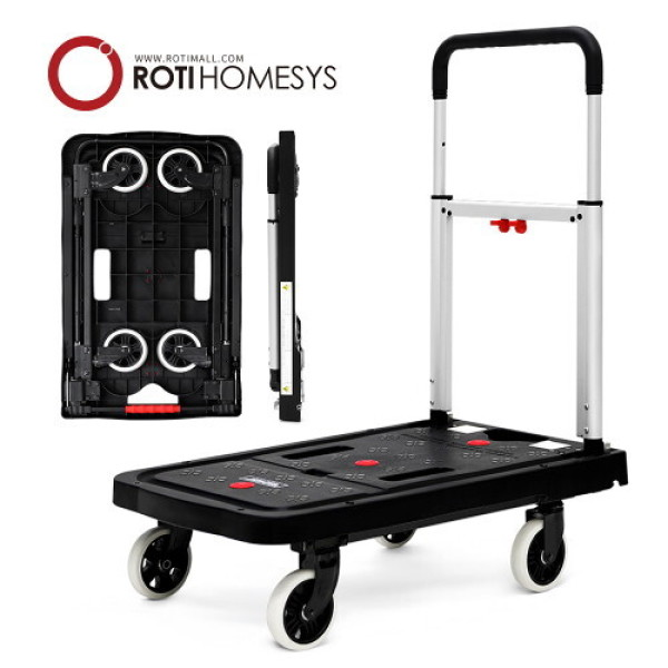 (AK몰)(로티홈시스)(로티홈시스) 바퀴 접이식 플랫폼 핸드카트-일반형 상품이미지