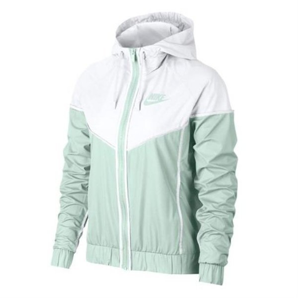 NIKE Womens Windrunner Track Jacket Barely Grey/Wh 상품이미지