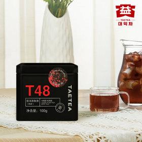 대익보이차 T48 숙차 1통 100g 귀엽고 편리한 틴케이스