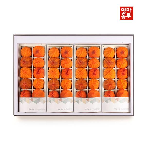 (현대Hmall) 마루영농  영동 곶감마루 특호 선물세트 2.7kg (48입) 상품이미지