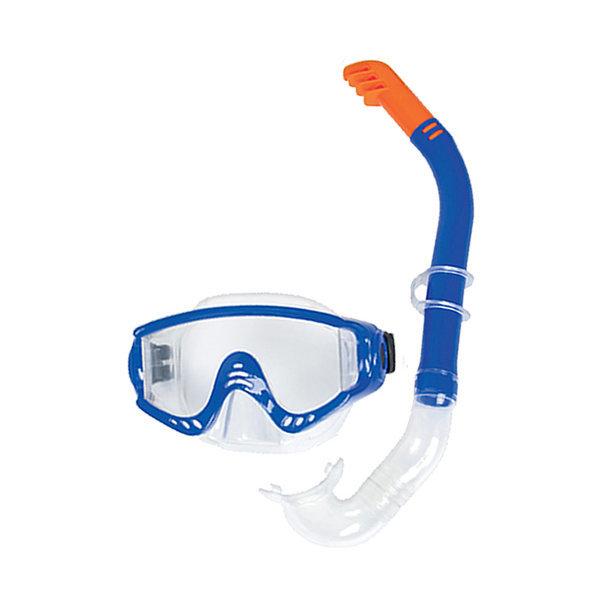 BW 24020 하이드로프로 스노클 세트(블루)/물안경 상품이미지