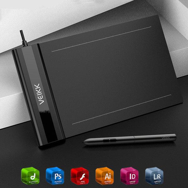 USB 그림 타블렛  드로잉 타블렛 veikk S640 상품이미지