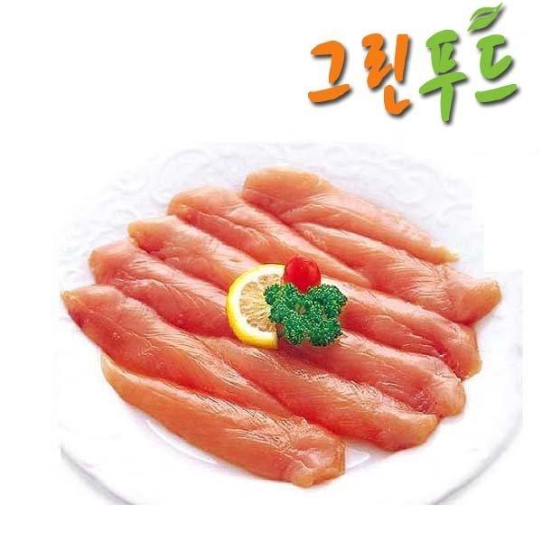 그린푸드 국내산닭고기안심살 5kg/진공포장/무료배송 상품이미지