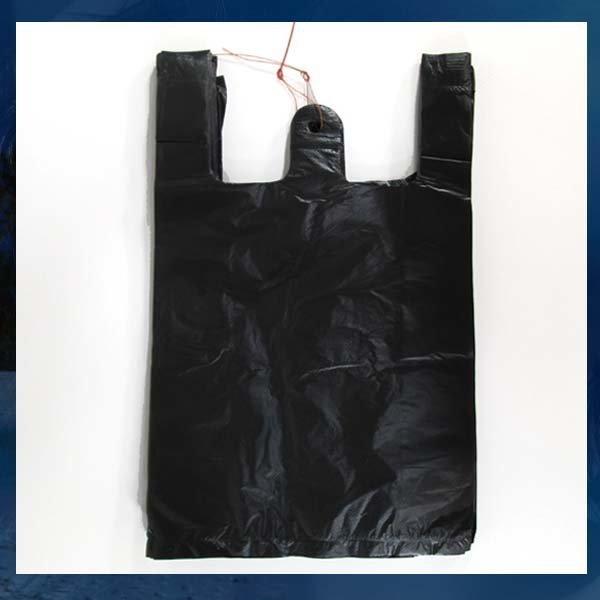 D032/비닐봉투/5호/비닐봉지/검정/백색/검정비닐봉투 상품이미지