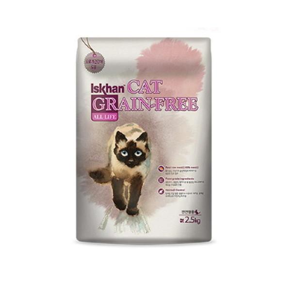 (AK몰)(이즈칸)이즈칸 캣 올라이프 2.5kg 전연령 고양이사료 상품이미지