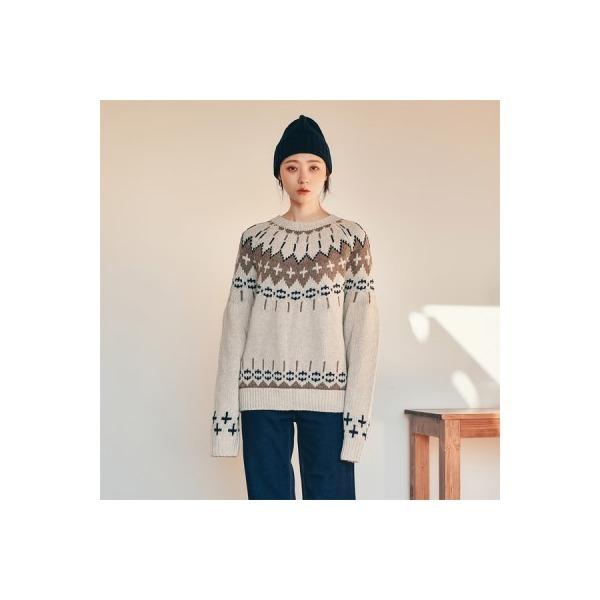 아크 울 스웨터 상품이미지
