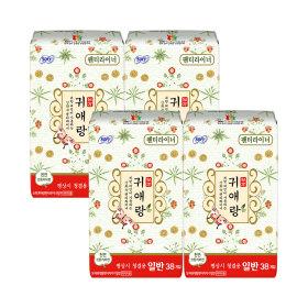 귀애랑 팬티라이너 생리대 일반 38Px3팩