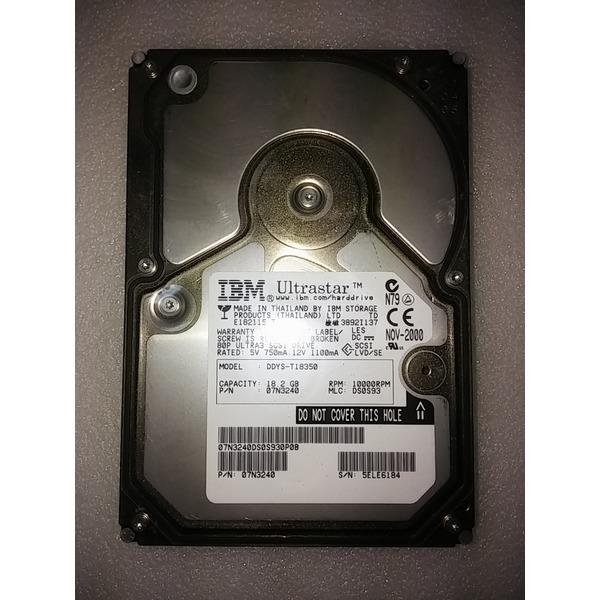 IBM DDYS-T18350  서버용 하드 디스크 상품이미지