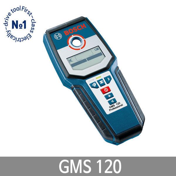 보쉬 GMS120 멀티탐지기 전기케이블/목재/금속 탐지기 상품이미지