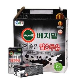 정식품 뼈에좋은칼슘두유(콩깨쌀) 190ML 16