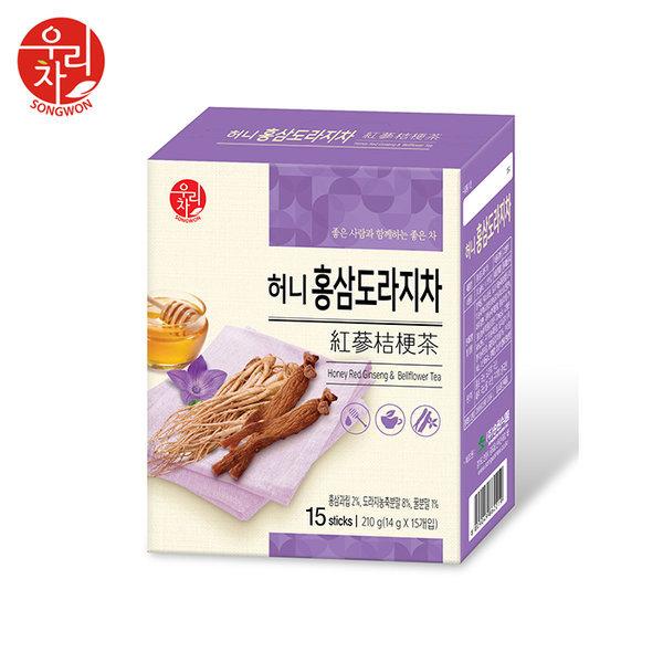 티타임고려 송원 허니 홍삼 도라지차 15T / 전통차 상품이미지