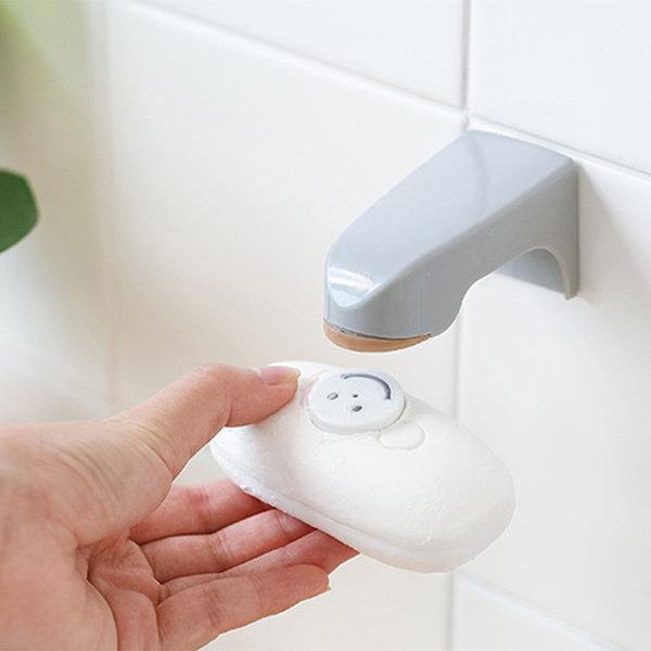 비누홀더 비누받침 1+1 부착 자석 비누홀더 상품이미지