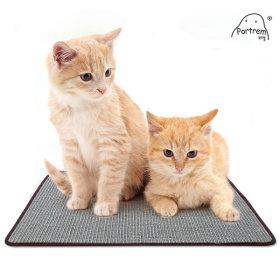 사이잘 고양이 스크래쳐/장난감 매트 카페트형 40x60cm