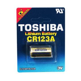 도시바 CR-123A/ 1알/ 3V/ 리튬건전지/배터리/Toshiba