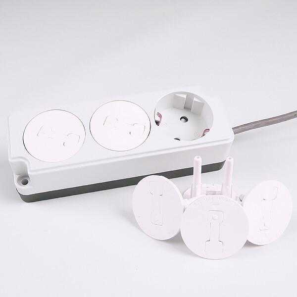 220V안전커버(6개/1set)/유아안전/전기/감전사고예방 상품이미지