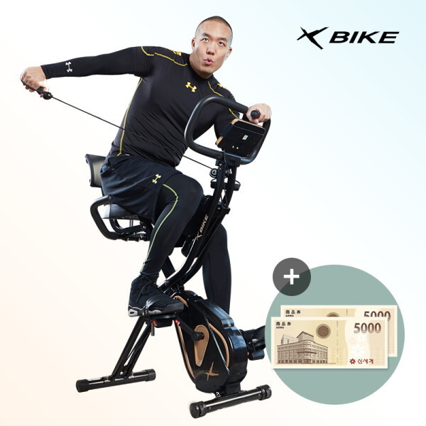 이화에스엠피  NEW 숀리 엑스바이크 x10 엑스텐 실내자전거 더블코어밴드장착 상품이미지