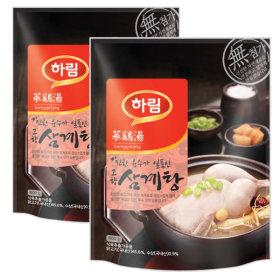 하림 고향삼계탕 800gx2팩/삼계탕/보양식/백숙/간편식