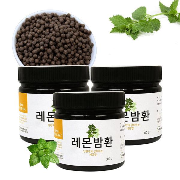 레몬밤환 300gX3통 레몬밤 환 (고급용기) 상품이미지
