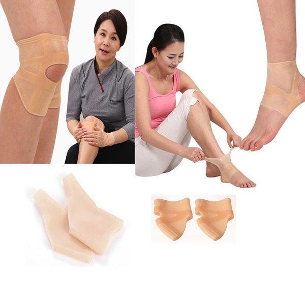 실리콘 무릎보호대 손목 발목 보호대 무릅 아대 가드 상품이미지
