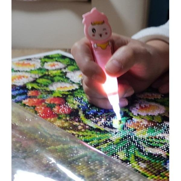 보석십자수 LED펜 보석십자수펜 상품이미지