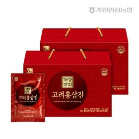 개성상인 고려홍삼진 30포 /1+1 총60포 개성인삼농협