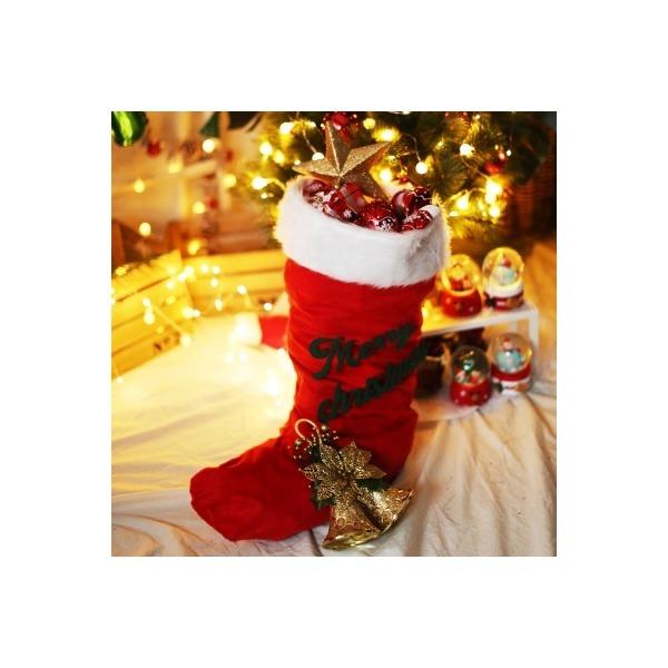크리스마스 대형 산타양말 상품이미지