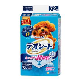 유니참 데오시트 애견 배변패드 강력흡수 레귤러 72P
