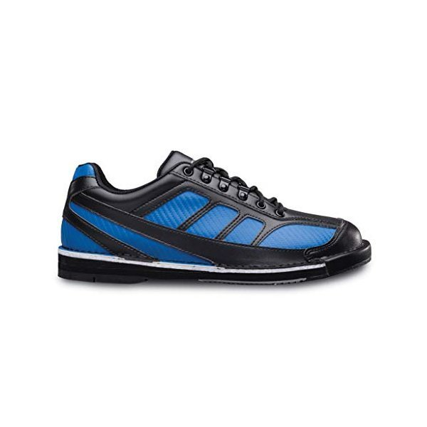 해외쇼핑/Brunswick Mens Phantom Bowling Shoes Right Hand- Black/Royal 상품이미지
