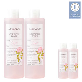 ROSE WATER TONER 500ml +Flower 5-item KIT(25ml X5)