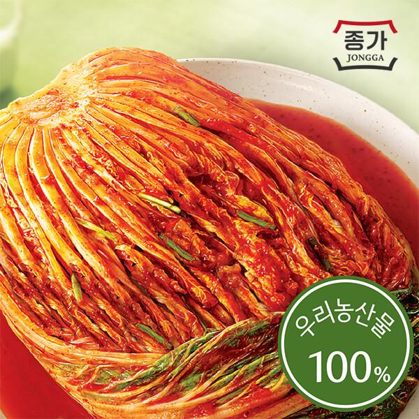 종가집 포기김치(소백) 5kg 상품이미지