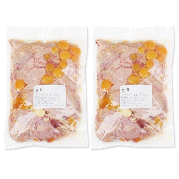 알집 1kgx2개-국내산 닭알집 닭내장 닭내장탕 내장탕 상품이미지