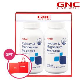 칼슘 앤 마그네슘 60정(30일분)x2병 총2개월