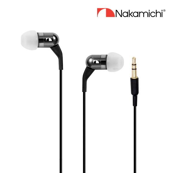 나카미치  커널형 이어폰 NLE-750BA 상품이미지