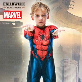 스파이더맨 에버그린 코스튬 아동 어린이 할로윈 의상