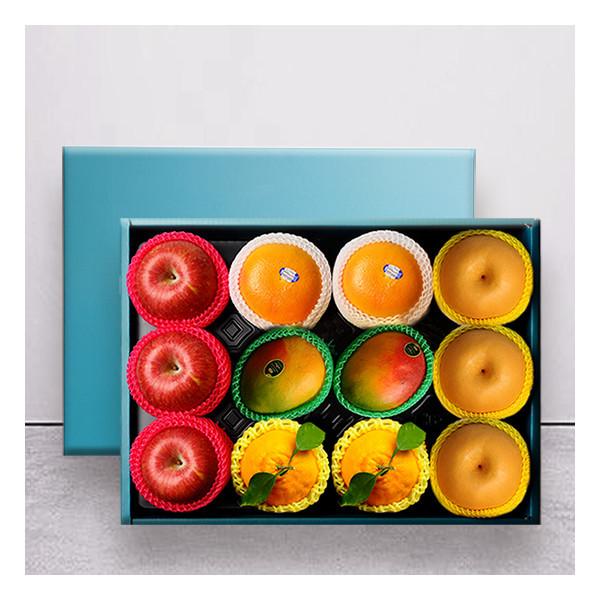 누리원  VIP 명품 황실 과일선물세트 사과3+배3+망고2+용과2+오렌지2/부직포가방 상품이미지