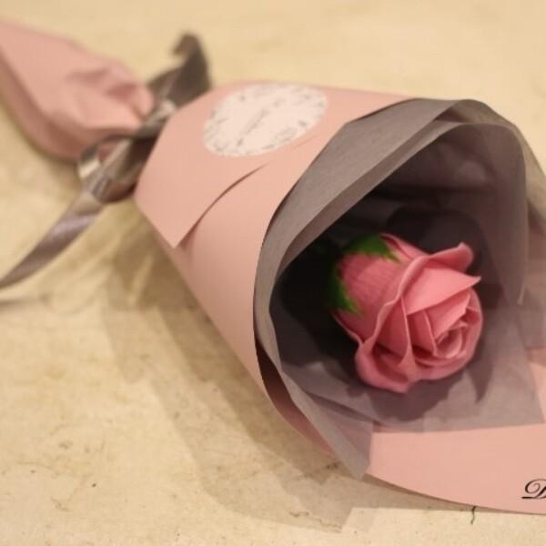 대구백화점 II관   드로잉엣가든 비누꽃다발  비누꽃한송이 졸업식꽃다발 상품이미지