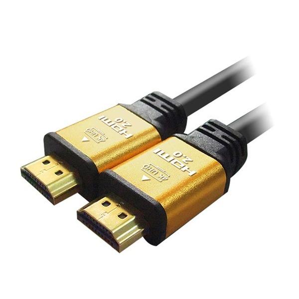 대원 고급형 골드메탈 HDMI 케이블 2.0Ver 1.5M 상품이미지