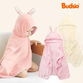 버드시아 사계절 토끼 유아 목욕가운 샤워가운/타올