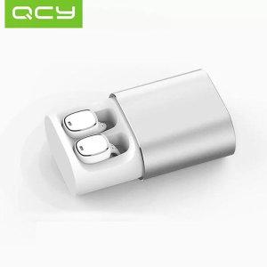 [큐씨와이]QCY - 불루투스이어폰 5.0 무선이어폰QCY-T1 pro실버